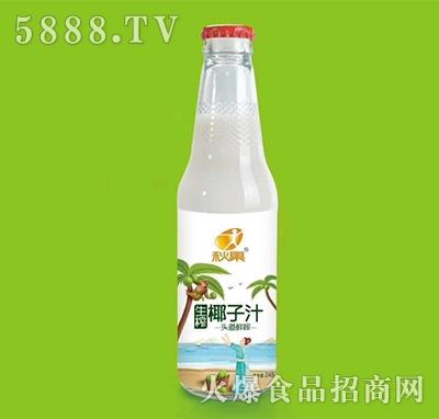 秋果生榨椰子汁饮料248ml
