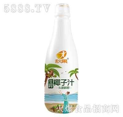 秋果生榨椰子汁饮料1.25L
