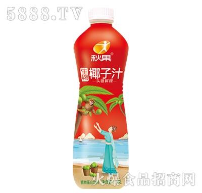 秋果生榨椰子汁1.26L喜庆装