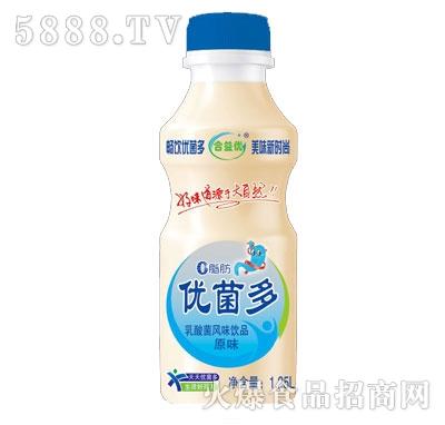 合益优优菌多乳酸菌饮品原味1.25L