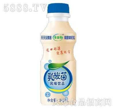合益优乳酸菌饮品原味340ml