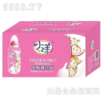 小漾乳酸菌饮品草莓味200mlx24瓶