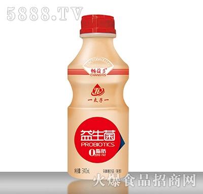畅益彡益生菌乳酸菌饮品草莓味340ml