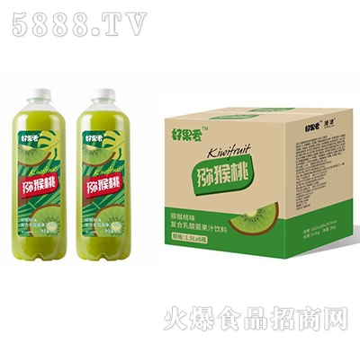 好果爱乳酸菌猕猴桃汁1.5Lx6