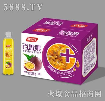 椰当当百香果发酵复合果汁饮料480mlX15