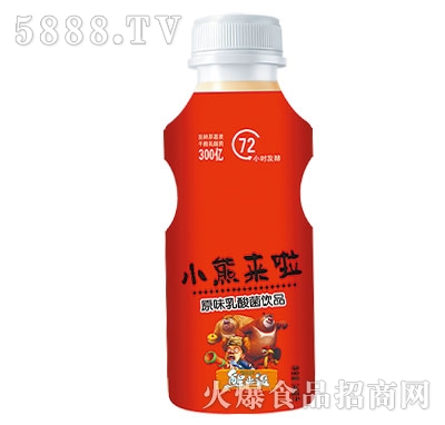 小熊来了原味乳酸菌饮品