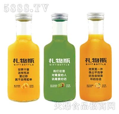 380mL礼物瓶复合乳酸菌果汁饮品系列