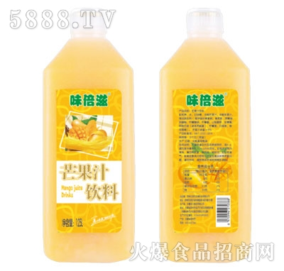 味倍滋芒果汁饮料1.25L