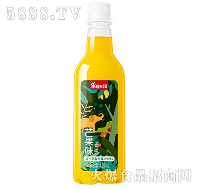 果园大叔益生菌芒果汁饮料410ml