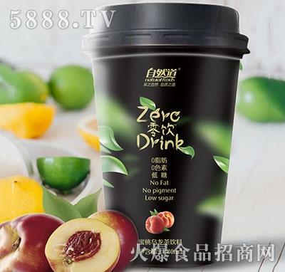 自然道零饮蜜桃乌龙茶480ml
