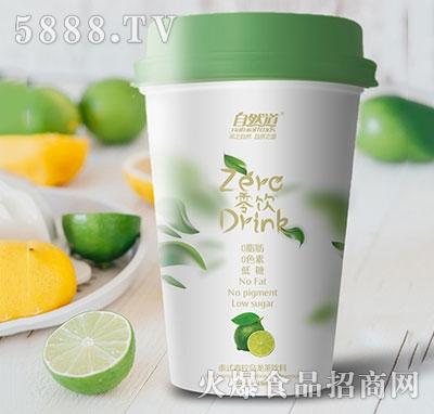 自然道零饮泰式青柠乌龙茶480ml