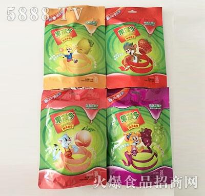 果凝多果凝果卷4种口味产品图