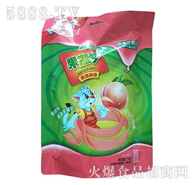 果凝多果凝果卷分享装水蜜桃味75克产品图