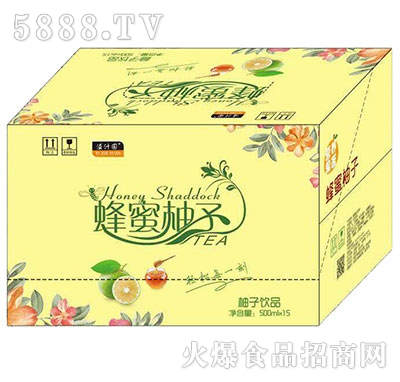 溢汁园蜂蜜柚子茶