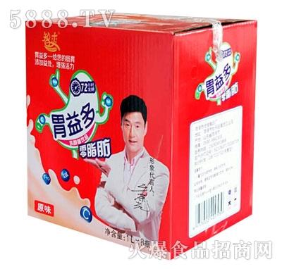 智爽乳酸菌饮品原味1LX8