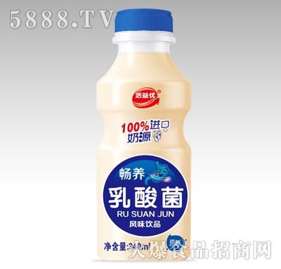 活益优畅养乳酸菌原味340ml产品图
