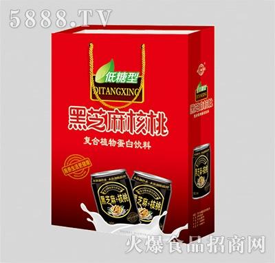黑芝麻核桃复合植物蛋白饮料礼盒