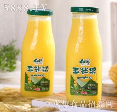 品世小方瓶玉米浆250ml