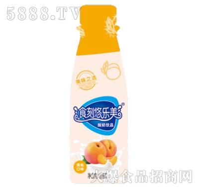 食刻悠乐美黄桃酸奶饮品316g