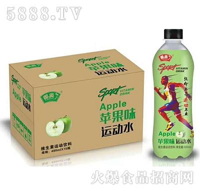椰奥苹果味运动水