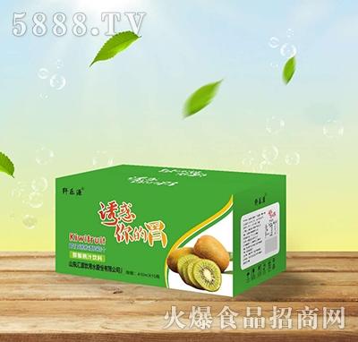 纤乐源猕猴桃益生菌发酵果汁410mlx15瓶