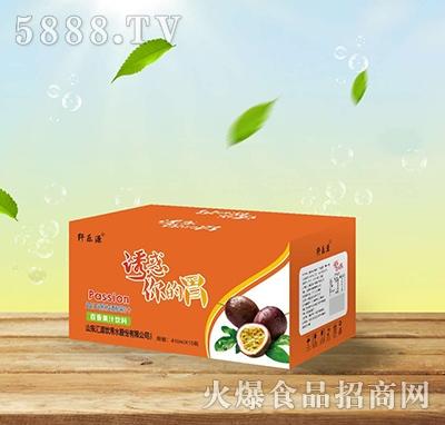 纤乐源百香果益生菌发酵果汁410mlx15瓶