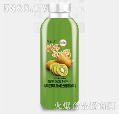 纤乐源猕猴桃益生菌发酵果汁410ml