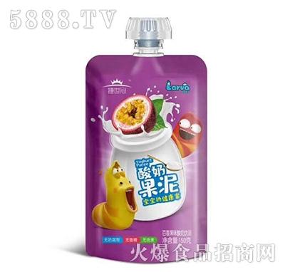 捷世冠酸奶果泥百香果味150克
