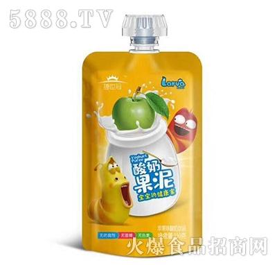 捷世冠酸奶果泥苹果味150克