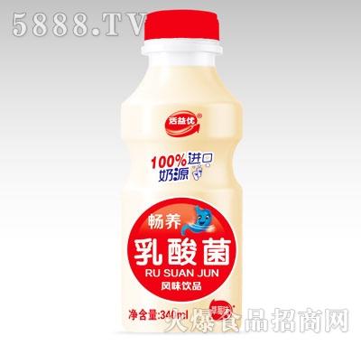 活益优畅养乳酸菌风味饮品草莓味340ml