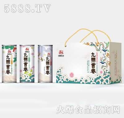 九州书卷战楼兰草本植物饮品产品图