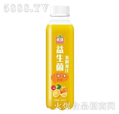 豪强益生菌发酵鲜橙汁500ml