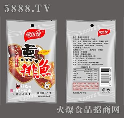 康乐缘熏排鱼香辣味28克