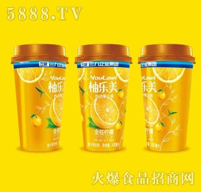 柚乐美果汁茶金桔柠檬味400ml