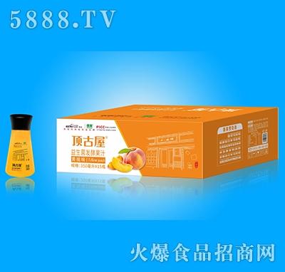 顶古屋益生菌发酵黄桃汁350mlx15