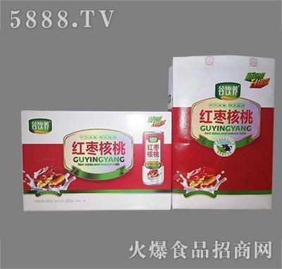 谷饮养红枣核桃奶