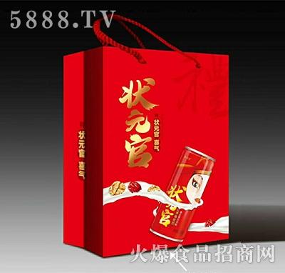 状元官红枣核桃奶礼盒