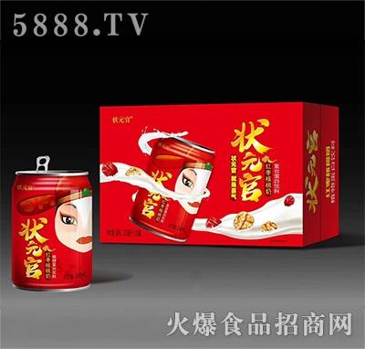 状元官红枣核桃奶植物蛋白饮品