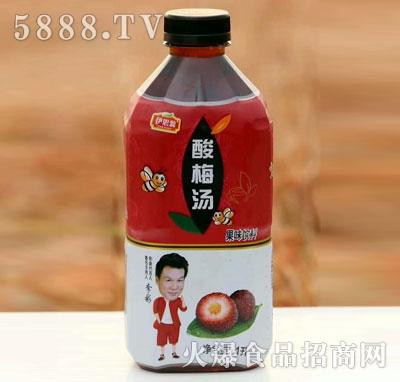伊思源酸梅汤果味饮料1L