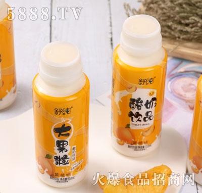 舒纯大果粒酸奶饮品黄桃味(瓶)