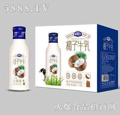 星阳光椰子牛乳1Lx6瓶产品图