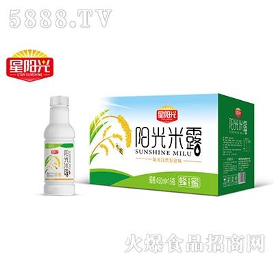 星阳光阳光米露饮料450mlx15瓶产品图