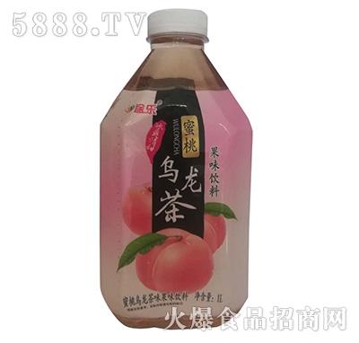 途乐蜜桃乌龙茶果味饮料1L