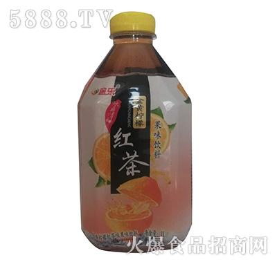 途乐金黄柠檬红茶果味饮料1L