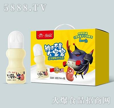 捷世冠益生菌酸奶饮品凤梨味270mlx8瓶