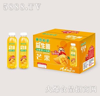 果园奇遇益生菌发酵芒果汁488mlx15瓶