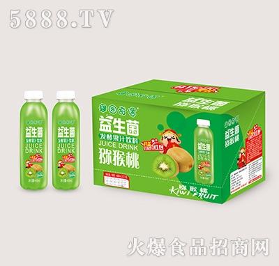 果园奇遇益生菌发酵猕猴桃汁488mlx15瓶