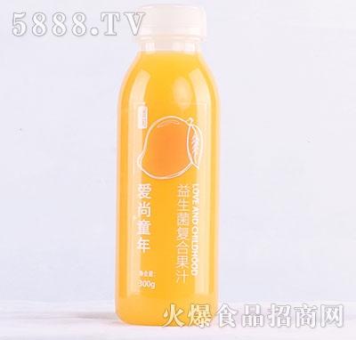 颖润爱尚童年益生菌复合芒果汁300g