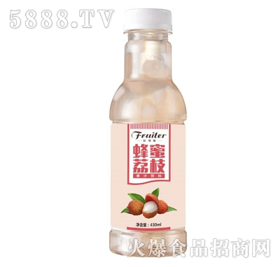 匠果家蜂蜜荔枝果汁饮料