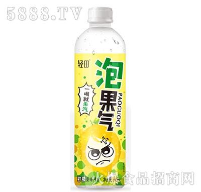 轻田泡果气柠檬果味汽水500ml